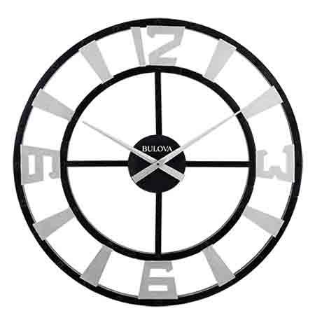 Bulova C4859 Gotham Wall Clock