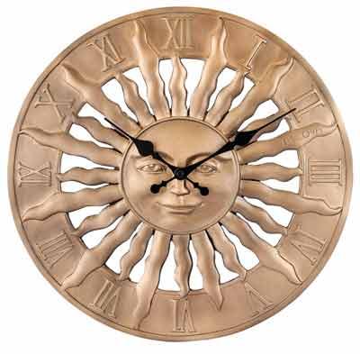 Bulova C4860 Sunrise Indoor - Outdoor Clock