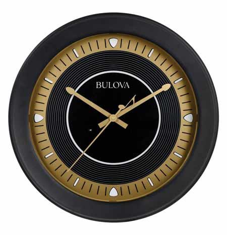 Bulova C4861 Long Play Bluetooth® Enabled Wall Clock