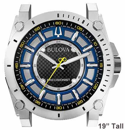 Bulova C9888 Precisionist Watch Dial Wall Clock