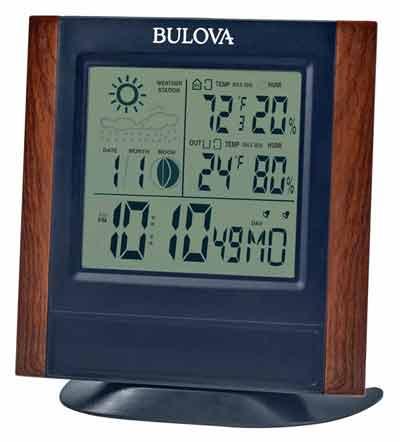 Bulova B1708 Forecaster Digital Weather Station