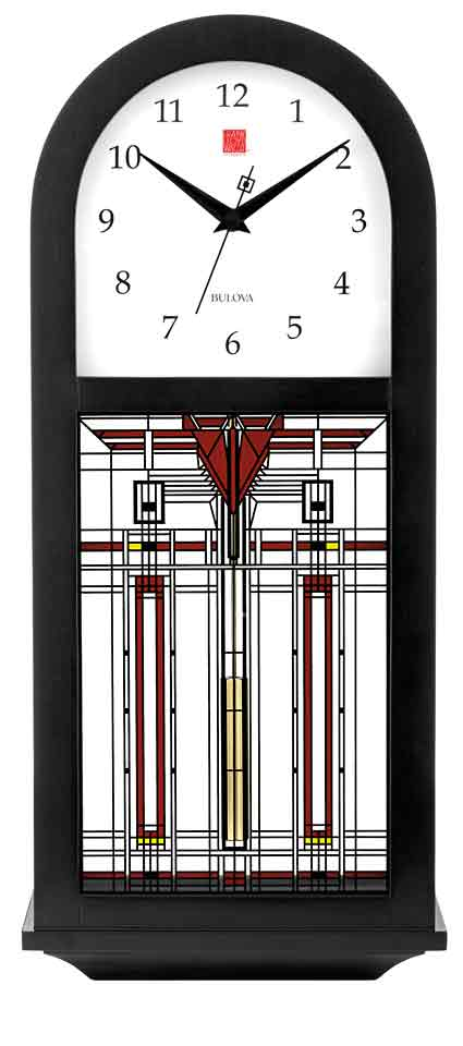 Bulova C4836 B Harley Bradley Clock The Clock Depot