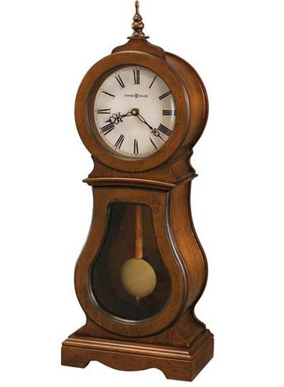 Howard Miller Cleo 635-162 Cherry Chiming Mantel Clock
