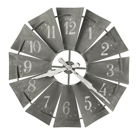 Howard Miller Windmill 625-671 Large Wall Clock