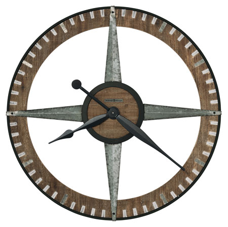 Howard Miller Buster 625-709 Large Wall Clock