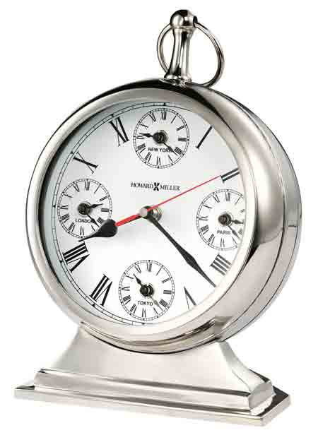 Howard Miller Global Time 635-212 Mantle Clock