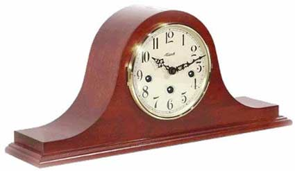 Hermle Sweetbriar 21135-N90340 Keywound Chiming Cherry Mantel Clock