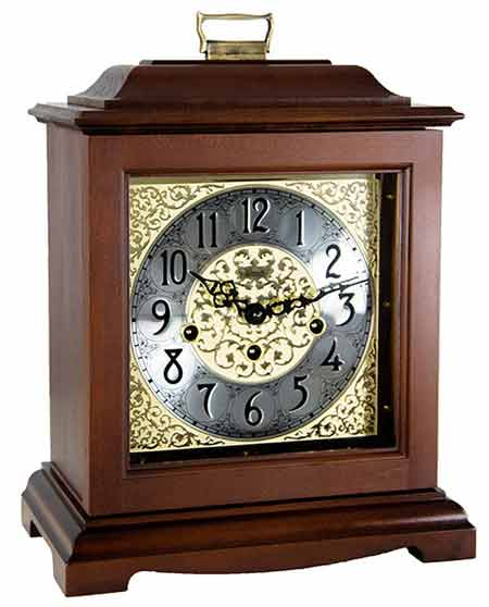 Hermle Austen HNA22518-N90340 Chiming Keywound Mantel Clock