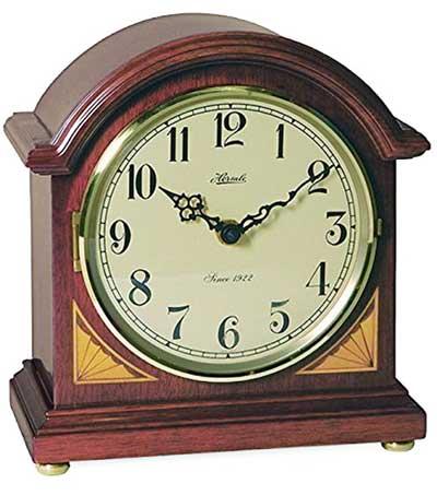 Hermle Klein Barrister 22919-N9Q Chiming Mantel Clock