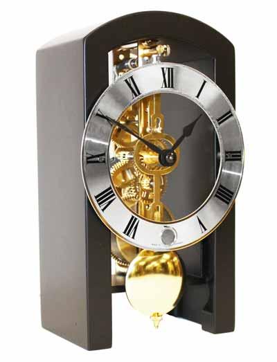 Hermle Archway 23015-000711 Keywound Skeleton Mantel Clock 23015-740721