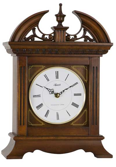 Hermle Jackson 42011 Quartz Chiming Mantel Clock