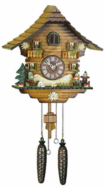 Hermle Neustadt Quartz Cuckoo Clock - 43000