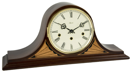 Hermle Remington 21162-N91050 Keywound Mantel Clock