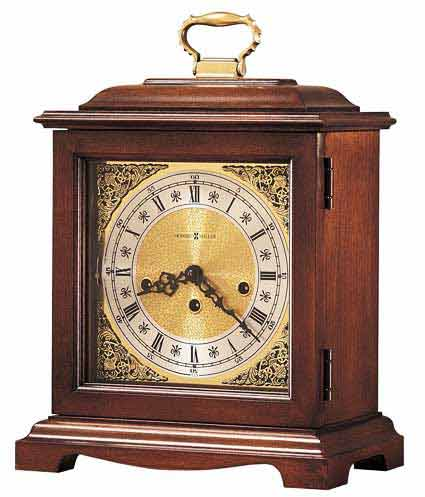 Howard Miller Graham Bracket 612-437 Keywound Mantel Clock