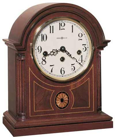 Howard Miller Barrister 613-180 Keywound Mantel Clock