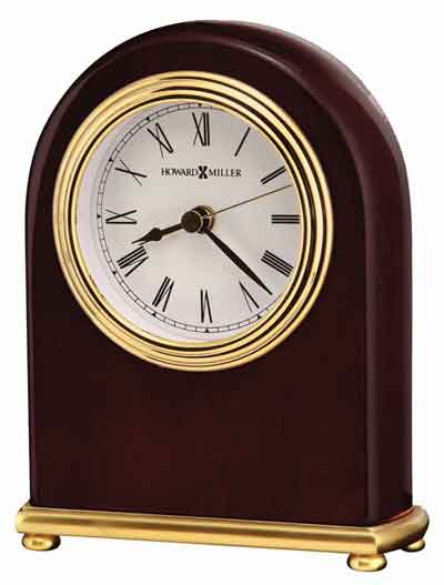 Howard Miller Rosewood Arch 613-487 Table Clock