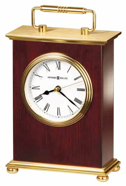 Howard Miller Rosewood Bracket 613-528 Desk Clock