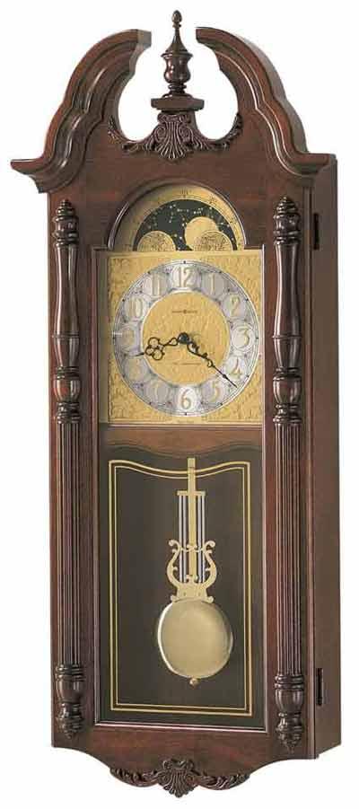 Howard Miller Rowland 620182 Chime Wall Clock The Clock Depot