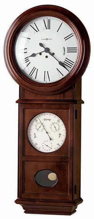 Howard Miller Lawyer II 620-249 Keywound Wall Clock