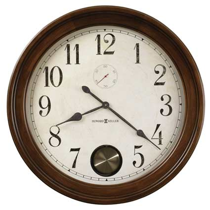 Howard Miller Auburn 620-484 Large Wall Clock