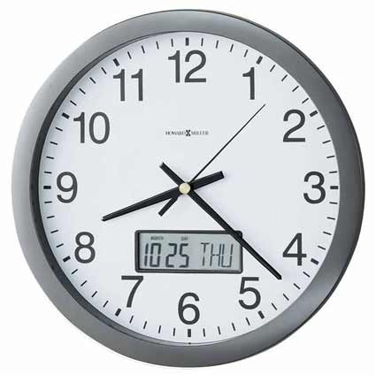 Howard Miller Chronicle 625-195 Wall Clock