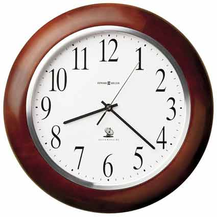 Howard Miller Murrow 625-259 Atomic Wall Clock