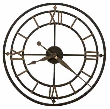 Howard Miller York Station 625-299 Wall Clock