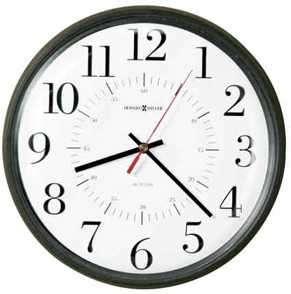 Howard Miller Alton 625-323 Autoset Wall Clock