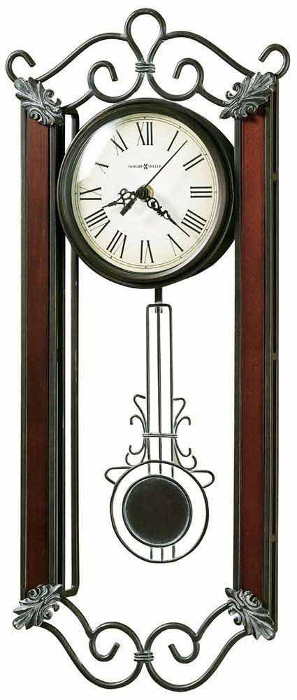 Howard Miller Carmen 625 326 Pendulum Wall Clock The Clock Depot