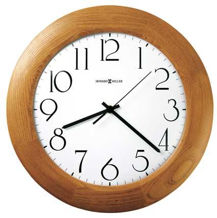 Howard Miller Santa Fe Oak Wall Clock 625-355