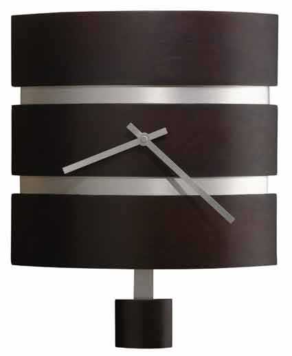 Howard Miller Morrison 625-404 Contemporary Wall Clock