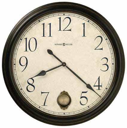 Howard Miller Glenwood Falls 625-444 Large Wall Clock