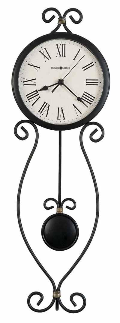 Howard Miller Ivana 625-495 Iron Wall Clock