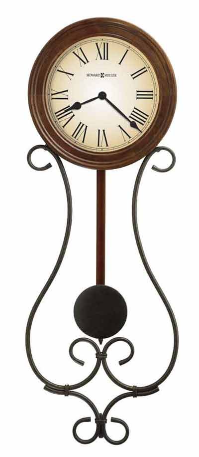 Howard Miller Kersen 625-497 Iron Wall Clock