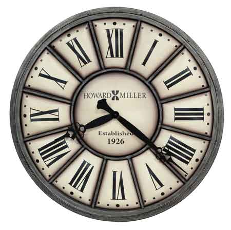 Howard Miller 625613 Company Time II Wall Clock The Clock Depot