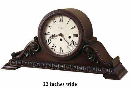 Howard Miller Newley 630-198 Keywound Mantel Clock