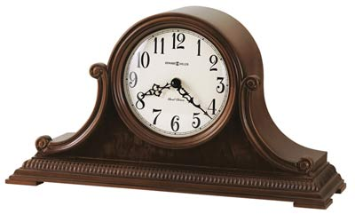 Howard Miller Albright 635-114 Cherry Mantel Clock