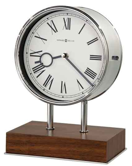 Howard Miller Zoltan 635-178 Contemporary Mantel Clock