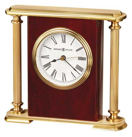 Howard Miller Rosewood Encore Bracket 645-104 Clock