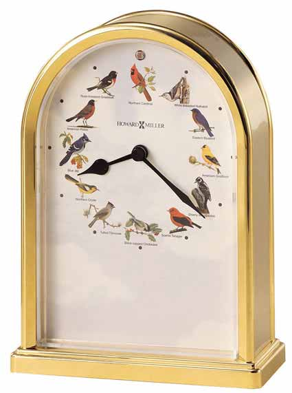 Bird Clocks: Songbirds of North America III 645-405