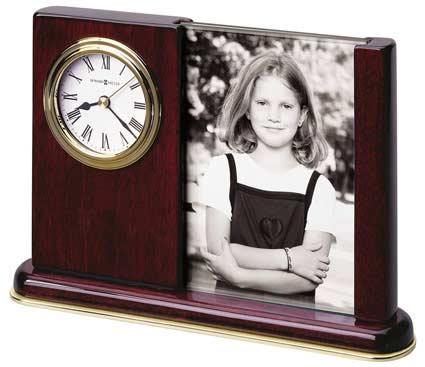 Howard Miller Portrait Caddy 645-498 Photo Desk Clock