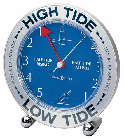 Howard Miller Tide Mate III 645-527 Table Clock