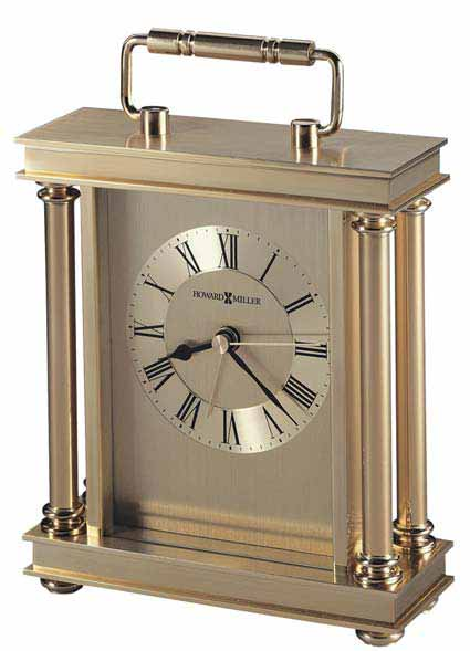 Howard Miller Audra 645-584 Brass Desk Clock