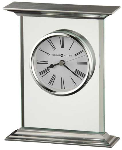 Howard Miller Clifton 645-641 Glass Table Clock