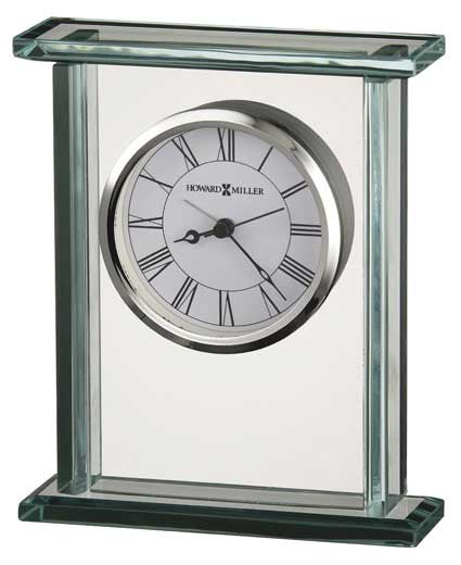 Howard Miller Cooper 645-643 Glass Table Clock