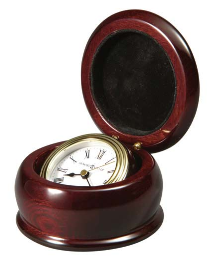 Howard Miller Westport 645-680 Hidaway Desk Clock