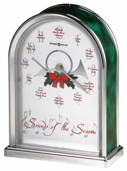 Howard Miller Sounds of the Season 645-687 Xmas Clock