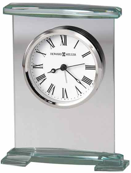 Howard Miller Augustine 645-691 Glass Alarm Clock