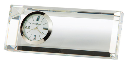 Howard Miller Prism 645-717 Crystal Clock