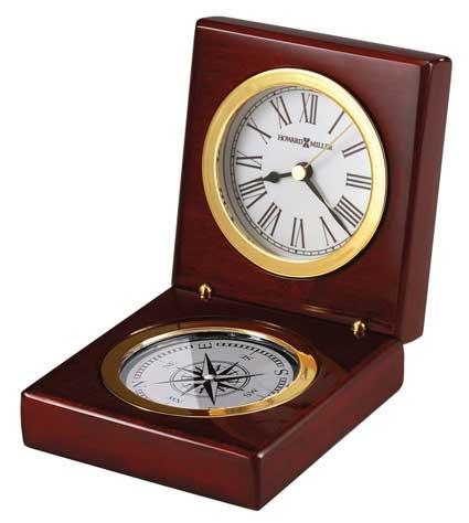 Howard Miller Pursuit 645-730 Compass Time Desk Clock